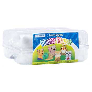 Forest Critters Plaster Playset